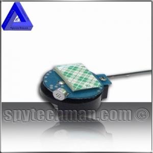 Émetteur espion FM appareil d'écoute contrôlée UHF cristal 3 à 6V