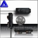 Transmisor espía UHF ultra miniatura estabilizado por cuarzo