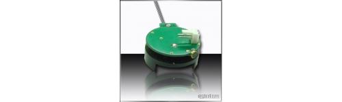 VOX microfono oculto espía activado por voz UHF alta potencia