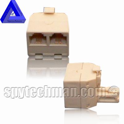 Bug Spy SPLITTER Transmitter, UHF wiretap, Crystal stabilized